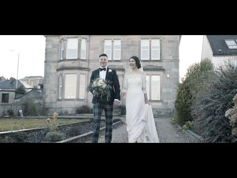 Stuart + Amanda | Highlight Film | Emotional Scottish Groom on Hogmanay | Tontine Hotel, Greenock