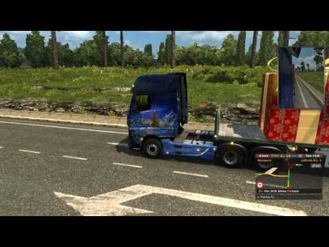 Euro Truck Simulator 2 #84 #Holiday Delivery Event #Banská B