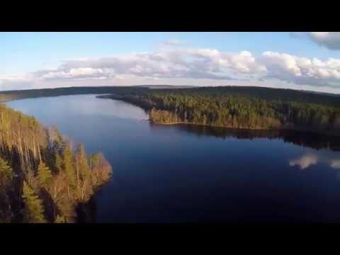 Озеро Уловное. Сосново. Приозерский район Ленинградской области.
