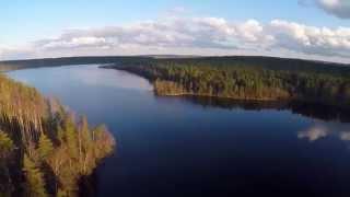 Озеро Уловное. Сосново. Приозерский район Ленинградской области.(Это живописное озеро относится к группе двух так называемых