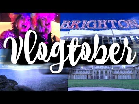 VLOGTOBER / Karaoke in Brighton / Days 13 & 14