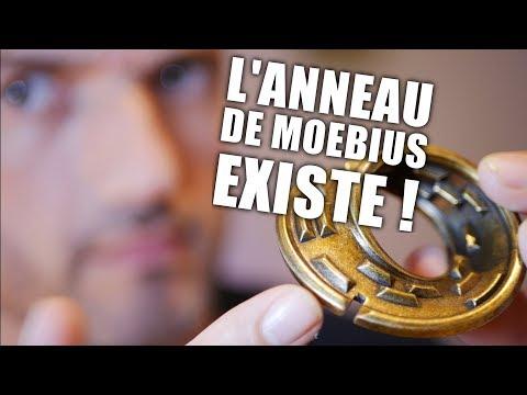 Cette illusion de Moebius existe dans la réalité en casse-tête !