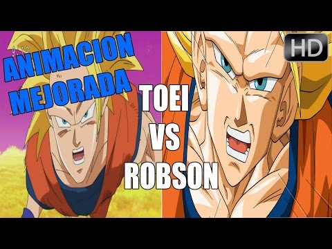 DRAGON BALL SUPER CAPITULO 5 MEJORADO -TOEI ANIMATION VS ROBSON ANIMATION