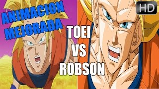 DRAGON BALL SUPER CAPITULO 5 MEJORADO -TOEI ANIMATION VS ROBSON ANIMATION
