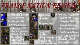 french Nation Review! Age of Empires III