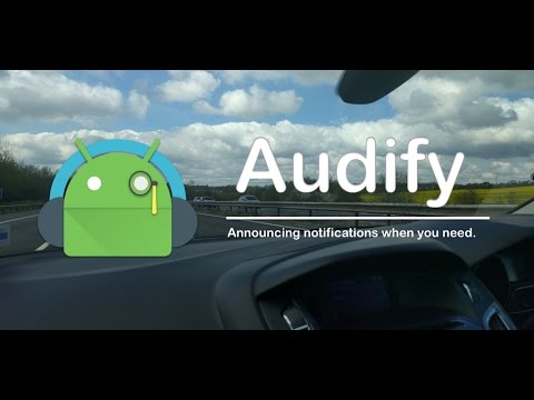 Audify Notification  Reader