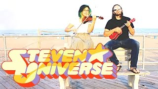 Steven Universe  (violin covers)~ Giant Woman - Wherever You Are - Jam Song