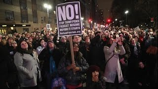Протесты в США накануне инаугурации Трампа (новости)