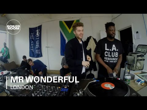 Mr Wonderful Boiler Room London DJ Set