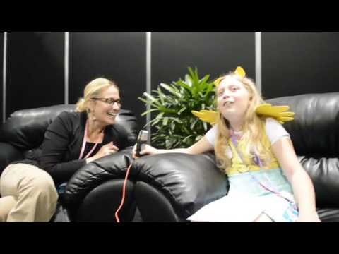Susan Eisenberg Interview - at Denver Comic Con 2016