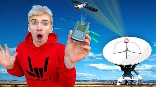 GAME MASTER Spy Network Tracking Devices Found during Backyard Scavenger Hunt!! (Space Satellite)