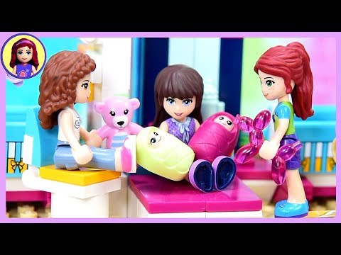 Sophie & Henry Have a Baby - A Lego Friends Story for Kids