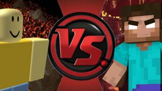 (Read Description) John Doe Vs Herobrine (Roblox vs Minecraft) Animation Battles Episode 1!