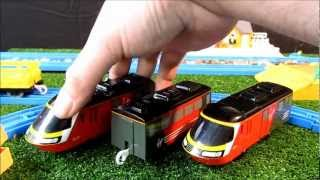 TOMICA WORLD Virgin HST Intercity 125 review and mod run with Mr Motorman