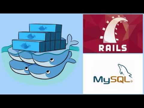 Rails on Docker: Create and run Rails app using Docker