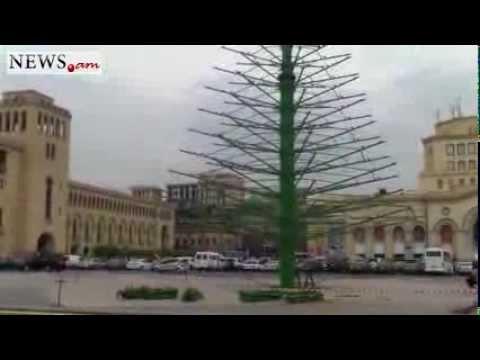 Main New Year Tree Of Yerevan Will Be 30 Meters High