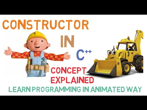 CONSTRUCTOR IN C++ - CONCEPT OF CONSTRUCTOR EXPLAINED-29