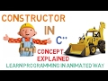 CONSTRUCTOR IN C++ - CONCEPT OF CONSTRUC