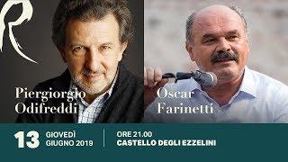 Piergiorgio Odifreddi e Oscar Farinetti,