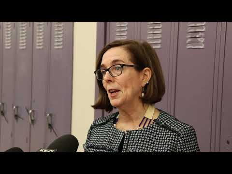 Oregon governor discusses sexual harassment