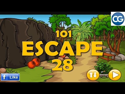 [Walkthrough] 501 Free New Escape Games - 101 Escape 28 - Complete Game