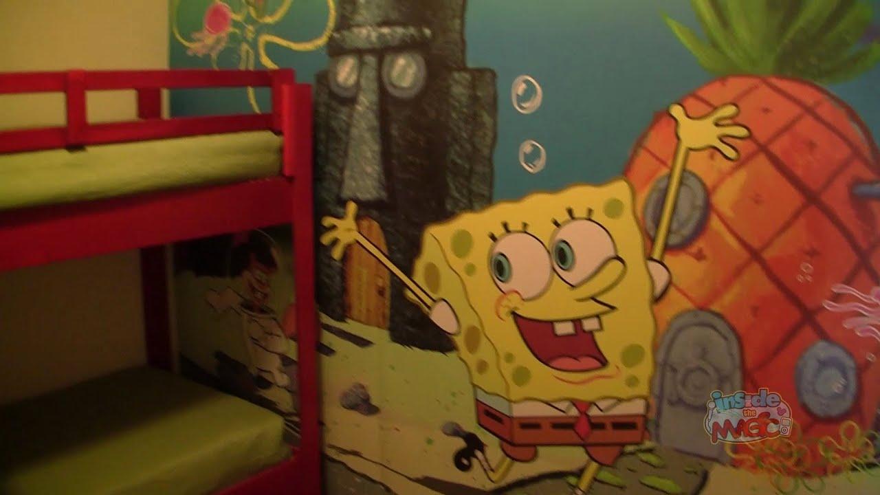 Spongebob Nickelodeon Hotel Room