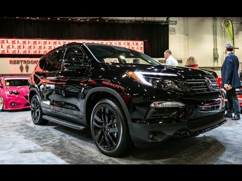 Honda Pilot Elite Black Edition concept Review Rendered ...