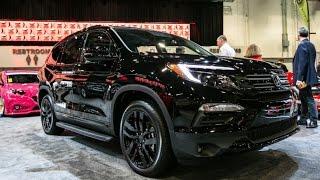 Honda Pilot Elite Black Edition concept Review Rendered Price Specs Release Date