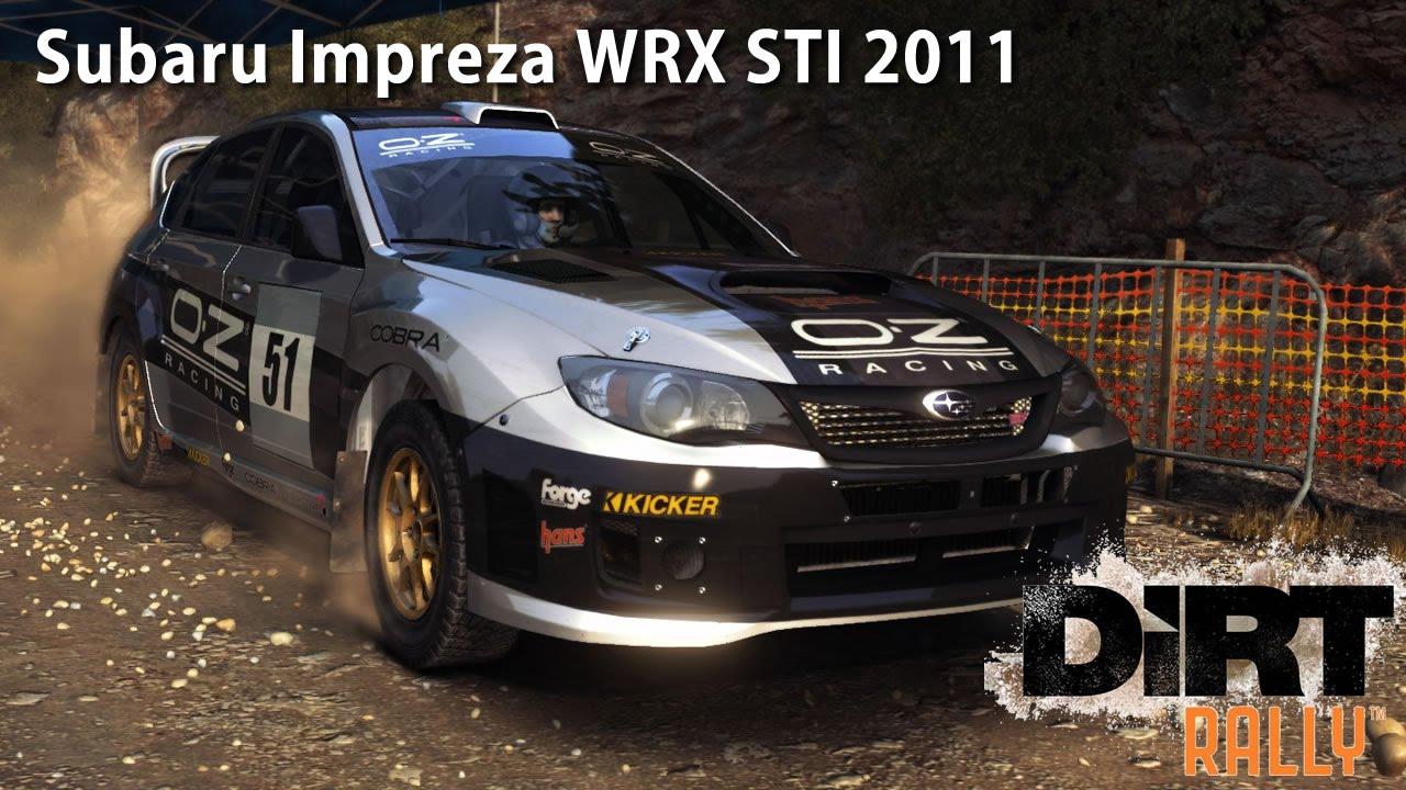 Dirt rally subaru impreza wrx sti 2011 youtube vanachro Choice Image