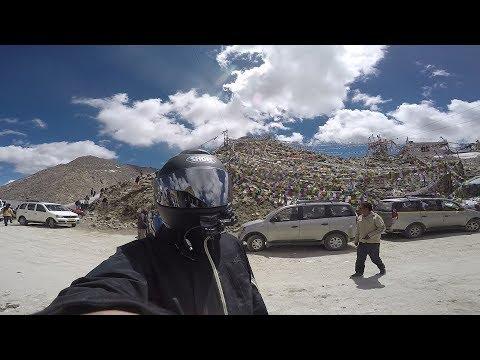 オフロード山道でコケた / Royal Enfield BULLET 500 EFI / ヒマラヤツーリング#3