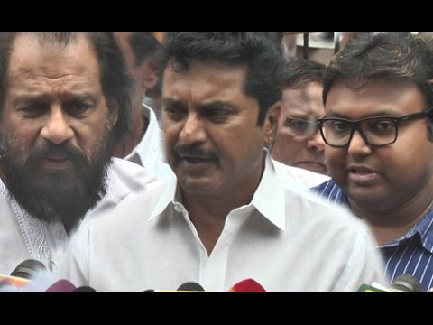 Sarathkumar, K.J.Yesudas, D.Imman And Political Leaders Pay Last Respects to MSV