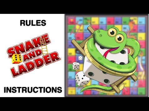 Snakes And Ladders Board Game Rules & Instructions | Learn How To Play Snake And Ladder Game