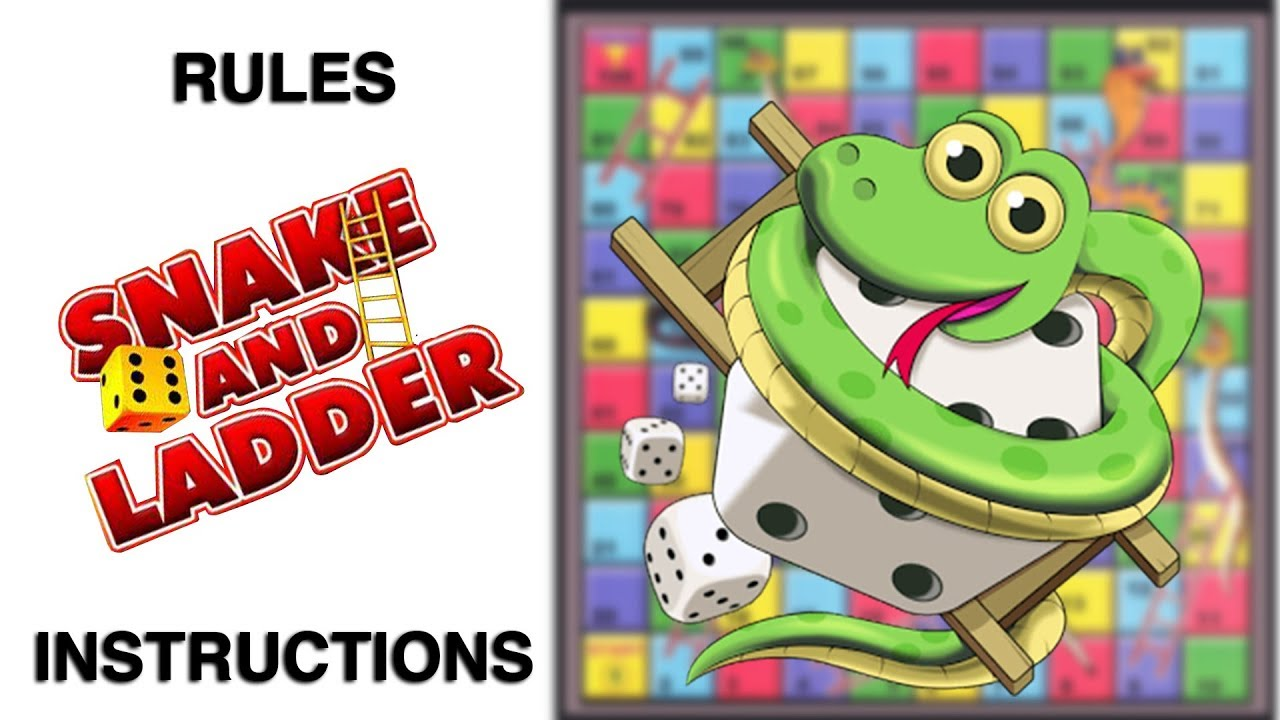 What are the rules of snakes and ladders? - Answers