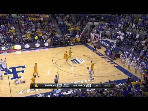 2.7.15 Men's Basketball at Air Force Highlights