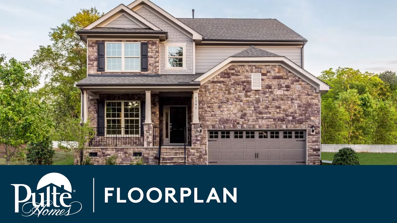 new homes by pulte homes u2013 continental floorplan youtube