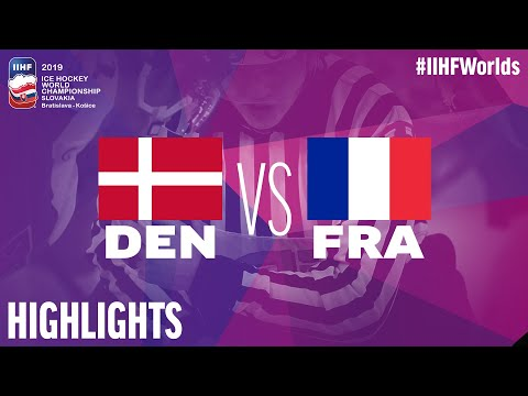 Denmark Vs. France | Highlights | 2019 IIHF Ice Hockey World Championship