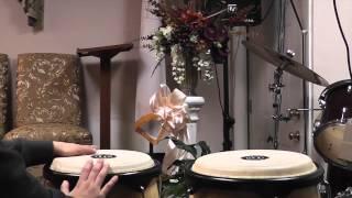 Como tocar Congas Songo Coritos