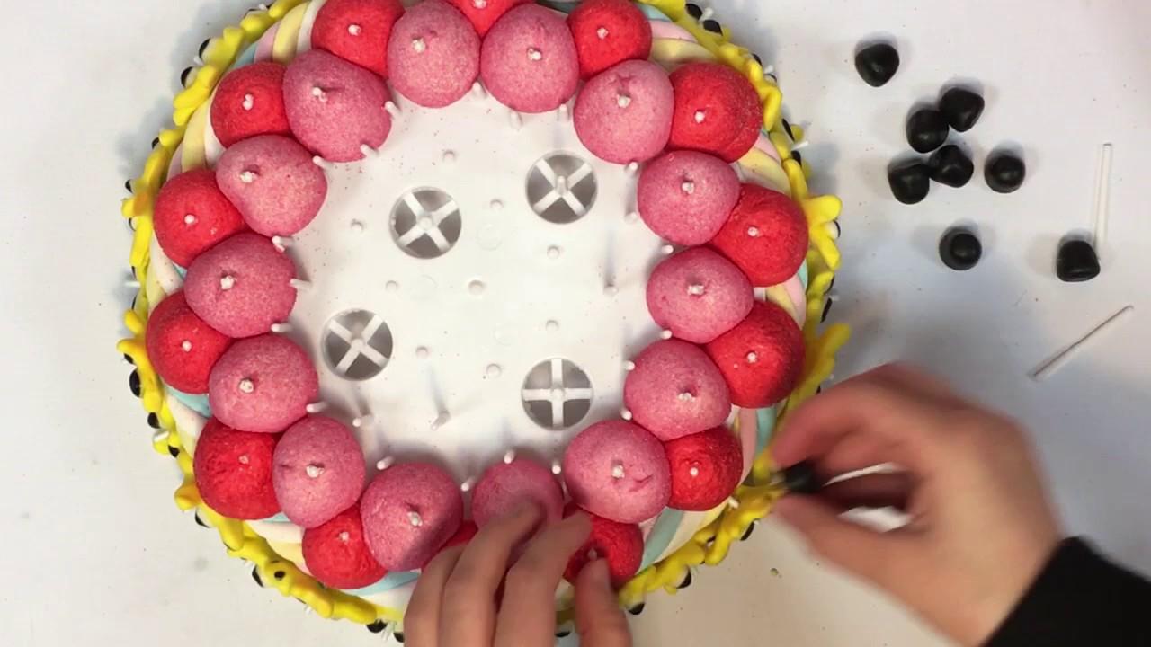 Beliebt Tuto Gâteau de bonbons Peppa Pig - YouTube TB31