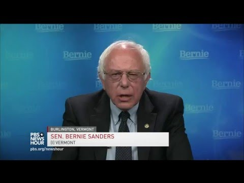 Resolute Sanders on strategy, foreign policy and the outlook for the DNC
