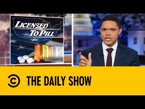 Top Pharma Companies Ordered To Pay For Role In Opioid Crisis   The Daily Show With Trevor Noah