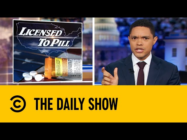 Top Pharma Companies Ordered To Pay For Role In Opioid Crisis | The Daily Show With Trevor Noah