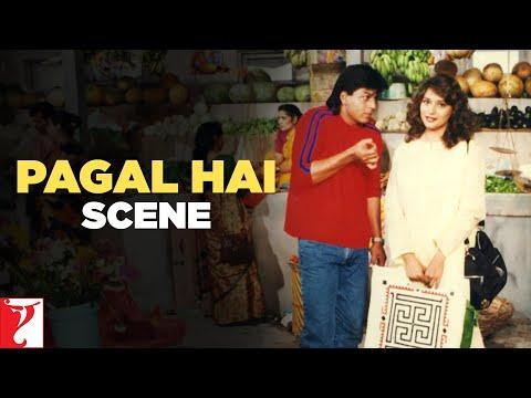 Scene: Dil To Pagal Hai | Pagal Hai | Shah Rukh Khan | Madhuri Dixit