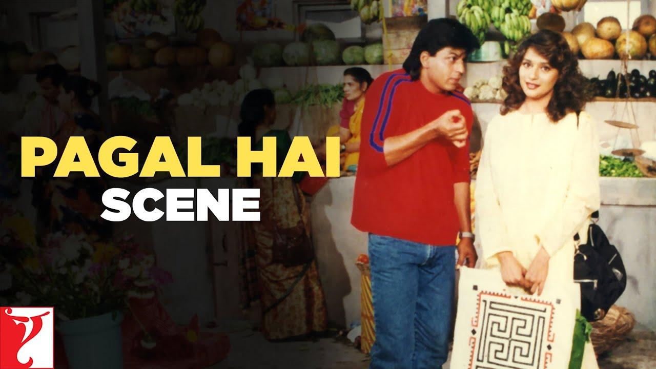 Scene: Pagal Hai | Dil To Pagal Hai | Shah Rukh Khan | Madhuri Dixit