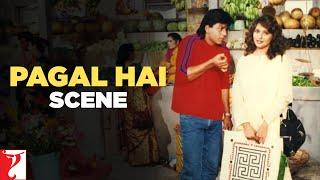 Pagal Hai - Comedy Scene | Dil To Pagal Hai | Shah Rukh Khan | Madhuri Dixit