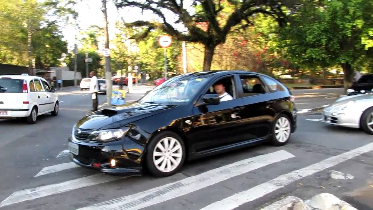Subaru impreza wrx hatch in so paulo youtube vanachro Images