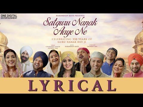 satguru-nanak-aaye-ne-(lyrical-video-)-|-guru-nanak-dev-ji-|-harshdeep-kaur-ft.various-artists