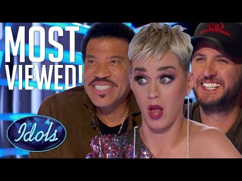 10 MOST VIEWED American Idol 2018 Auditions | Idols Global