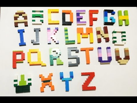 Learning ABC Alphabets with LEGOS