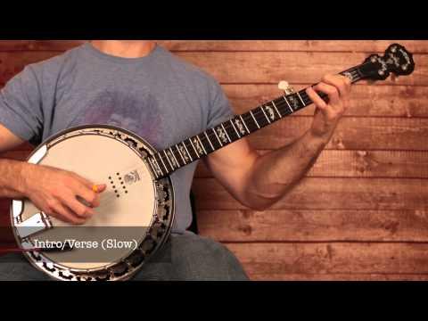 "Rascal Flatts ""Banjo"" Banjo Intro Banjo Lesson (With Banjo Tab)"