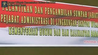 Kakanwil Lantik Uray Aswin Umar Sebagai Kepala Bagian Program dan Pelaporan